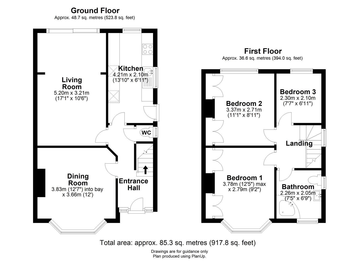 Perne Avenue, Cambridge, Cambridge floorplan